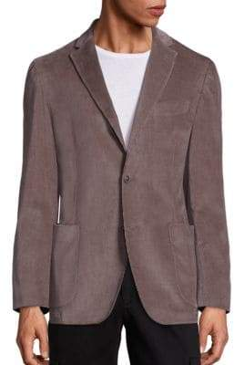 Saks Fifth Avenue COLLECTION Stretch Cotton Corduroy Jacket