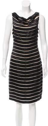 Yoana Baraschi Silk Knee-Length Dress