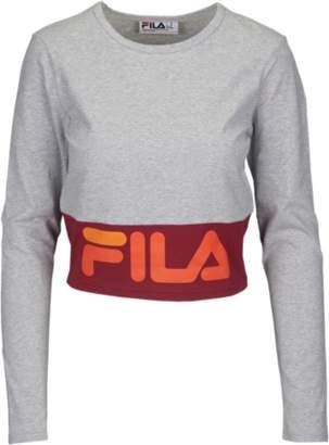 Fila Maria Long Sleeve Crop Top - Women's