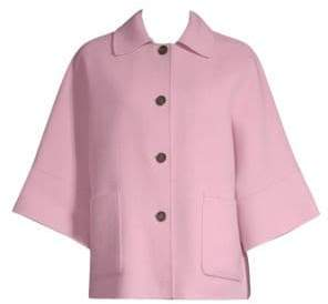 Max Mara Nido Short Cape Sleeve Jacket
