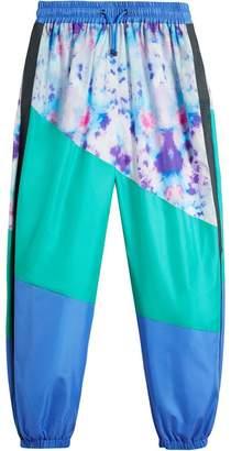 Burberry Tie-dye Silk Shell Suit Pants