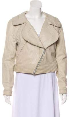 Yigal Azrouel Suede Zip-Up Jacket
