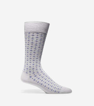Cole Haan Square Neat Crew Socks