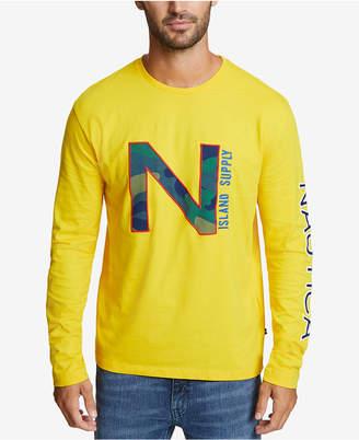 Nautica Men's Big & Tall Logo Graphic T-Shirt