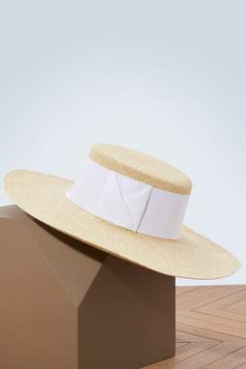 Sensi Studio Panama hat with large ribbon