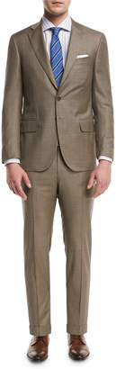 Isaia Solid Super 150s Wool Two-Piece Suit