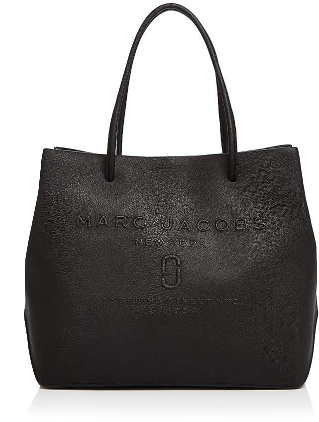 Marc JacobsMARC JACOBS Logo East/West Leather Tote