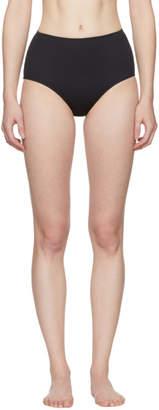 Her Line Black Classic High-Waist Bikini Briefs