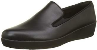 FitFlop Women's Superskate Loafers, (Black 090), 38 EU