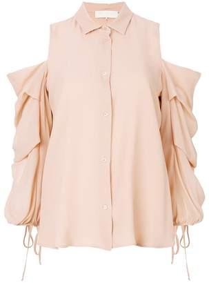 L'Autre Chose exposed shoulder blouse