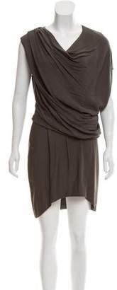 Helmut Lang Prism Asymmetrical Dress