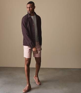 Reiss WICKER TAILORED SHORTS Pink