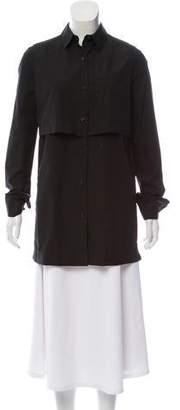 Proenza Schouler Long Sleeve Button-Up Tunic