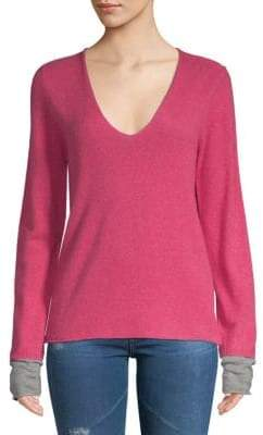 Zadig & Voltaire Long Sleeve Cashmere Top