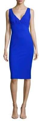 Malia Mills Guinevere V-Neck Sheath Dress