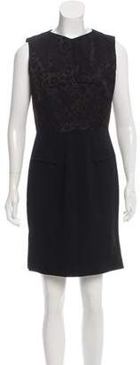 Roland Mouret Mini Wool Dress