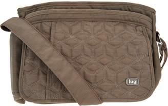 Lug Quilted Flap Crossbody Bag - Wings