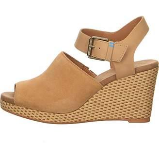 149150ee292 Toms Women s 10013436 Closed Toe Sandals
