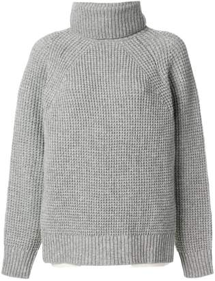Sacai classic knitted top