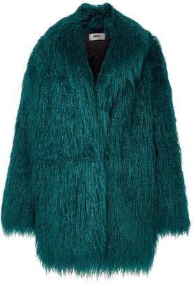 MM6 MAISON MARGIELA Faux Fur Jacket - Jade