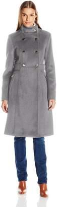 Eliza J Women's Wool Blend Military Coat