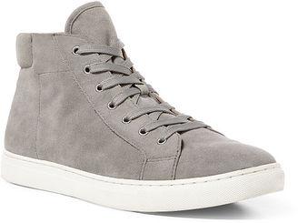 Polo Ralph Lauren Dree Suede High-Top Sneaker $150 thestylecure.com