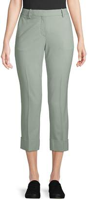 Theory Women's Stretch Wool Cropped Pants