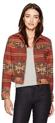 Pendleton Women's Aurora Wool Jacquard Jean Jacket