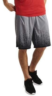 Russell Big Men's Printed Polyester Interlock Short