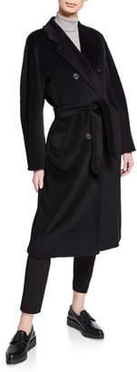 Max Mara Wool-Cashmere Belted Madame Coat