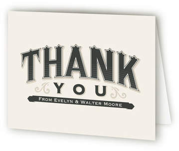 A Blessed Union Thank You Cards