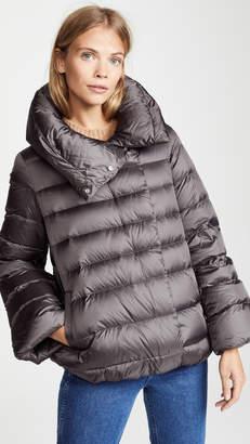 ADD Down Short Cape Jacket