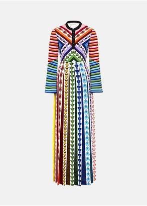 Mary Katrantzou Desmine Dress Rainbow Perfume
