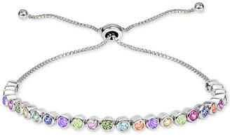 Giani Bernini Cubic Zirconia Bolo Bracelet in Sterling Silver