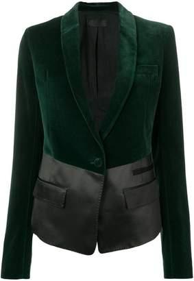 Haider Ackermann panelled fitted blazer