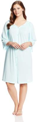 Miss Elaine Women's Plus-Size Robe Plus