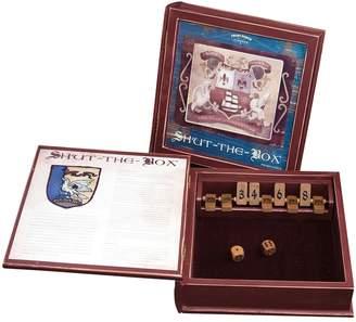 Front Porch Classics Shut-the-Box Dice Game Bookshelf Edition