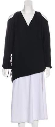 IRO Surplice Neck Mini Tunic