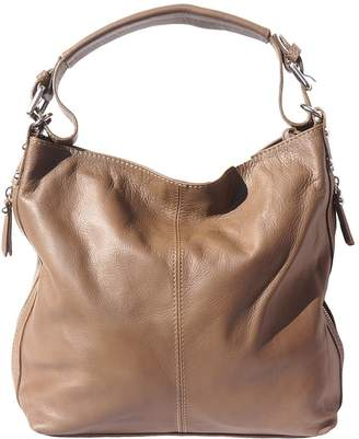 164aef5d50ce74 Florence Leather Market Hobo bag with removable Handle and removable  shoulder strap 3013