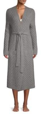 Eberjey Ila Textured Tie Waist Robe
