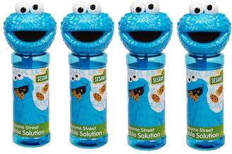 Little Kids Sesame Street 4-pk. Cookie Monster Bubble Heads Bubble Pack