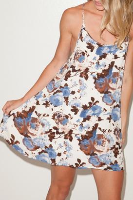 Cotton Candy Floral Mini Sundress $48 thestylecure.com