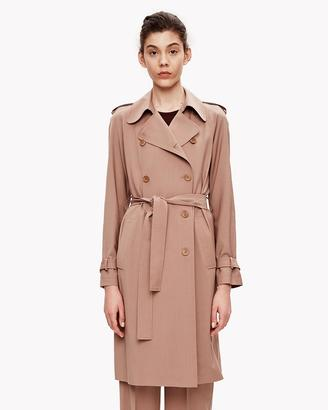 Light Wool Unlined Trench $655 thestylecure.com