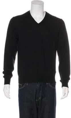 Versace 2016 Wool V-Neck Sweater