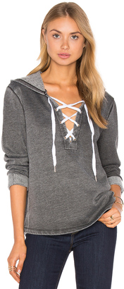 The Laundry Room Lattice Hoodie $143 thestylecure.com