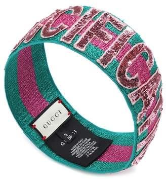 Gucci Sequinned headband