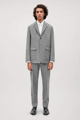 Cos WOOL BLAZER WITH SOFT SHOULDERS