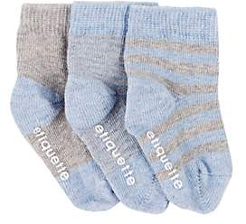Etiquette Clothiers Classic Sock Bundle-Blue