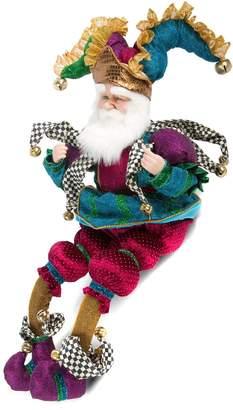 Mackenzie Childs Sitting Santa Claus Figurine