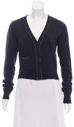 Diane von Furstenberg Cashmere Long Sleeve Cardigan